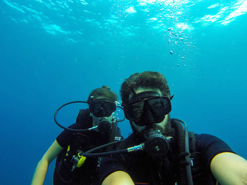 underwaterselfie